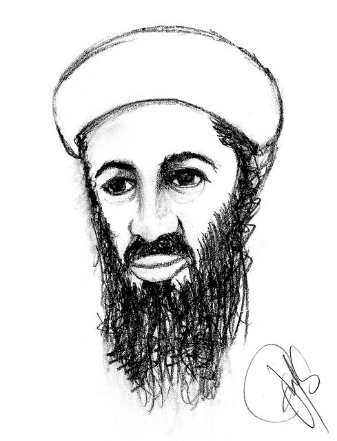 Osama Bin Laden, Al-Qaeda leader and mastermind between the 9/11 attacks, was killed today in Pakistan. Credit: johnnie.maneiro on Flickr.com.