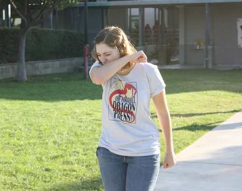 As the seasons change, many are worried about contracting pertussis, or whooping cough. Alison English/The Foothill Dragon Press.