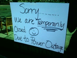 Power outage strikes Ventura
