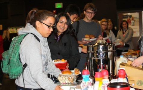 Seniors unwind with rewarding breakfast