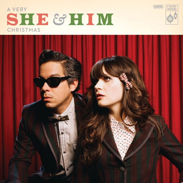 Indie pop band, She & Him, released their Christmas album on October 24. Credit: Merge