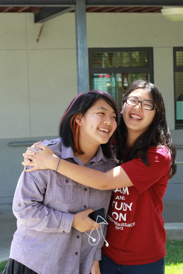Emily and Elaine Park are siblings at Foothill, yet feel little competition between each other. Credit: Josh Ren/ The Foothill Dragon Press