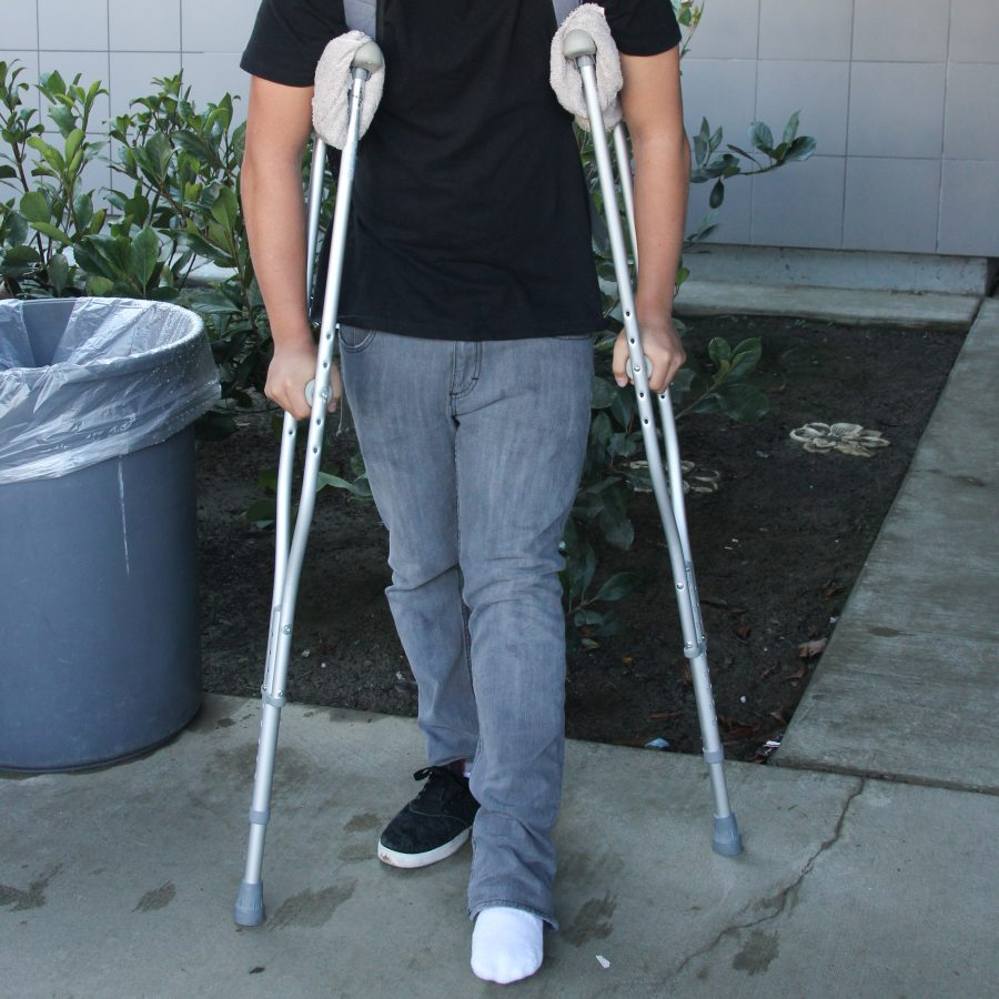 Many students become injured from playing sports in high school. Credit: Lauren Pedersen/The Foothill Dragon Press