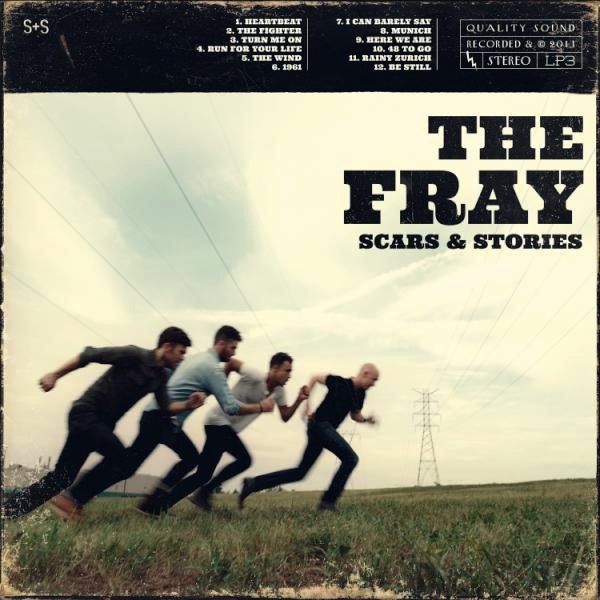 "The Fray released their third studio album, ""Scars and Stories,"" Feb. 7. Credit: Sony Records."