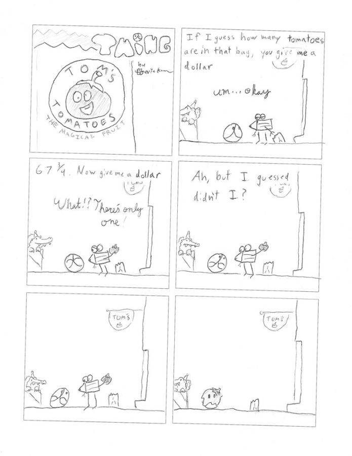 Thing 11, a comic by Kevin Kunes