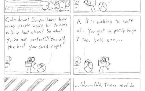 Thing 13, a comic by Kevin Kunes