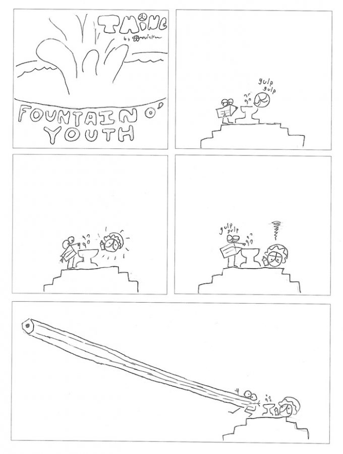 Thing 16, a comic by Kevin Kunes