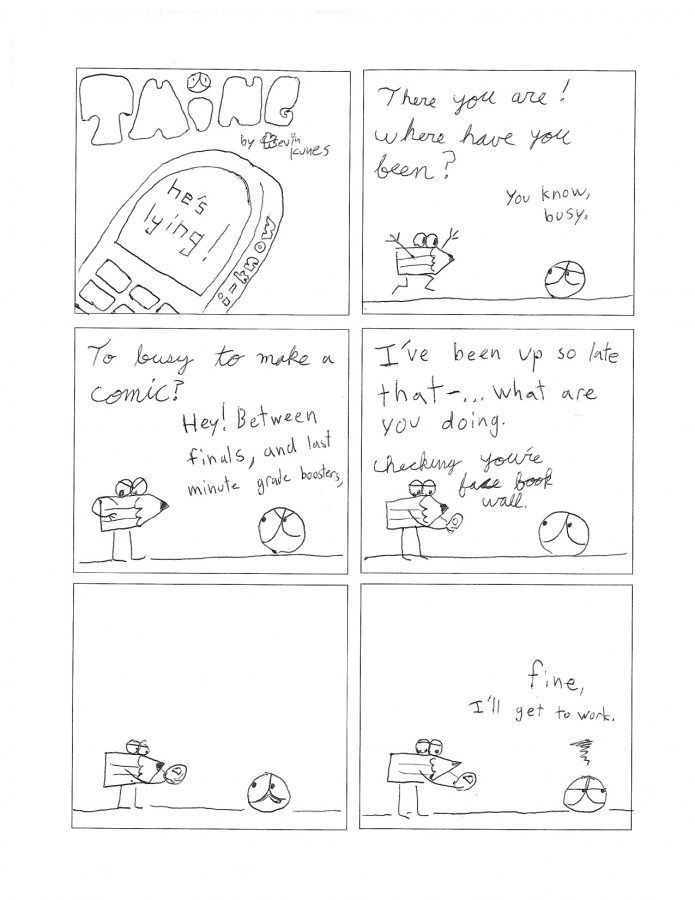 Thing 18, a comic by Kevin Kunes