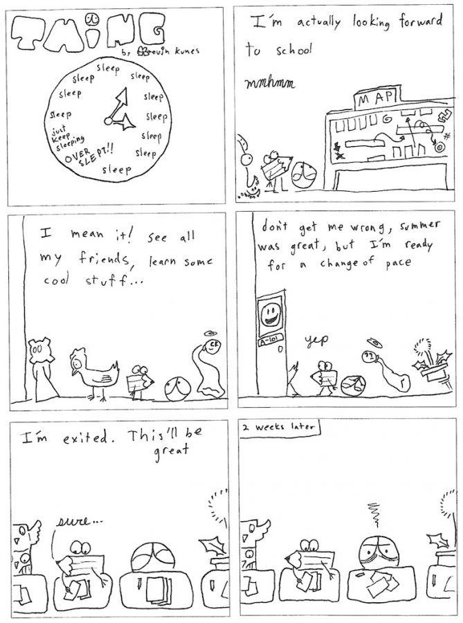Thing 19, a comic by Kevin Kunes