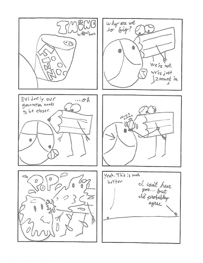 Thing 28, a comic by Kevin Kunes