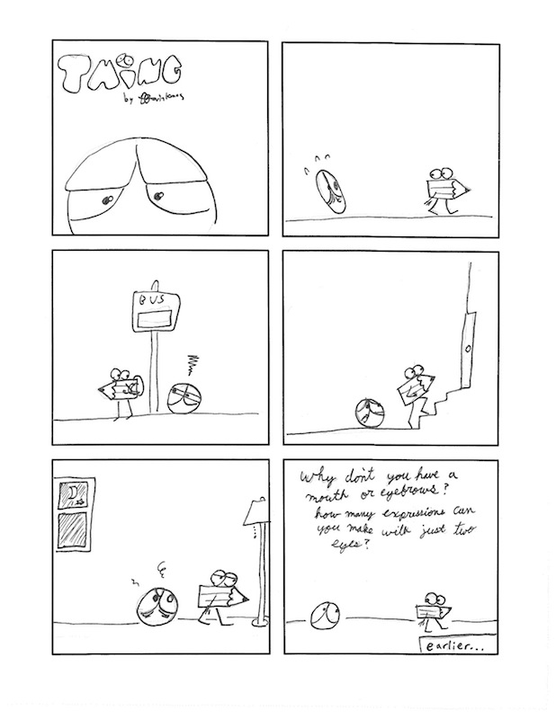 Thing 29, a comic by Kevin Kunes