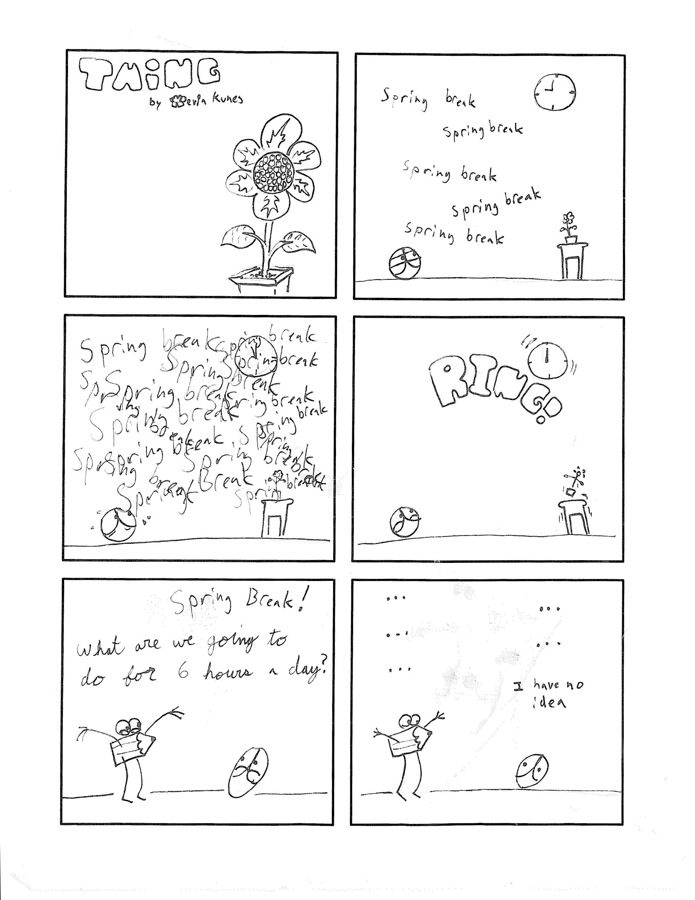 Thing 30, a comic by Kevin Kunes