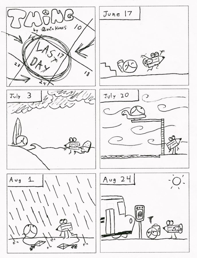 Thing 6, a comic by Kevin Kunes