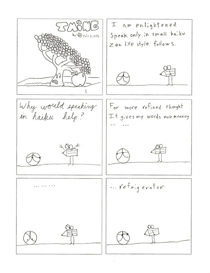 Thing 8, a comic by Kevin Kunes