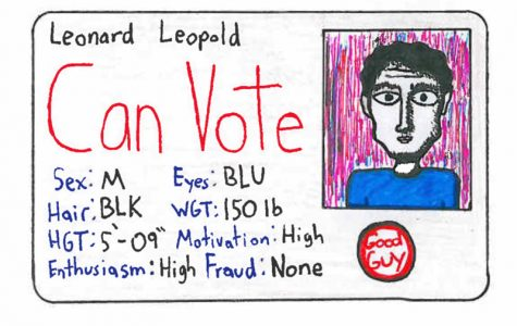 Voter I.D. laws secure that legitimate votes are not being diluted by fraudulent individuals. Credit: Michael Morales/The Foothill Dragon Press