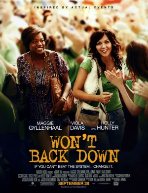 """New movie """"Wont Back Down"""" gives hope to future education. Credit: Walden Media"""
