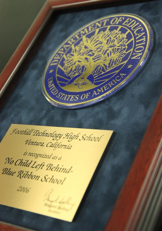 Foothill was nominated for a National Blue Ribbon award. It is the second time the school has received the honor. Credit: Aysen Tan/The Foothill Dragon Press