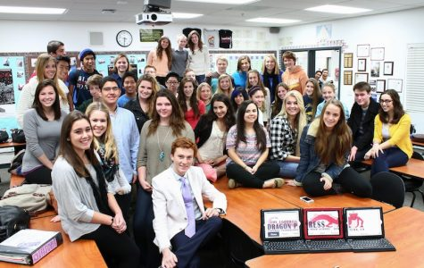 Dragon Press named All-American, earns five marks of distinction
