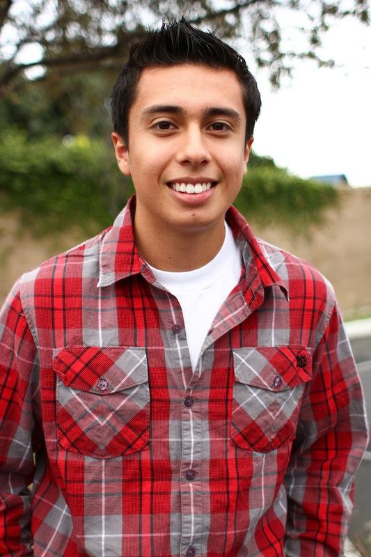 Migrant Education Program student junior Angel Martinez won Student of the Year. Credit: Aysen Tan/The Foothill Dragon Press