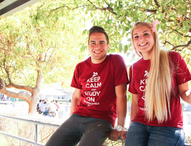 Juniors Blake Silva and Anna Cogswell won the positions of senior class vice president and senior class president, respectively. Credit: Lauren Pedersen/The Foothill Dragon Press