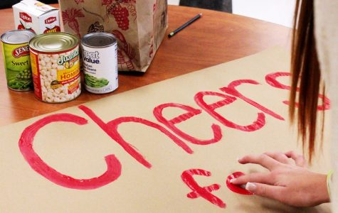 Students donate food, prepare for Cheers for Children