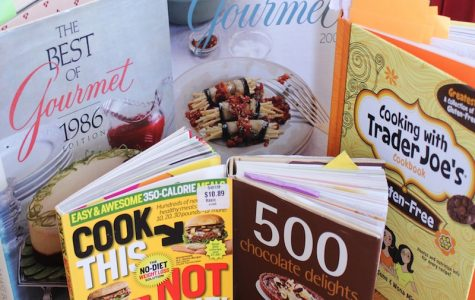 These four cookbooks will help the beginner, intermediate, or advanced chef cook up some delicious treats. Credit: Karina Schink/The Foothill Dragon Press