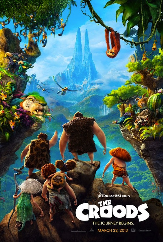 """""""The Croods,"""" a movie that was released on March 22, is surprisingly original and very heartwarming. Credit: 20th Century Fox/The Foothill Dragon Press"""