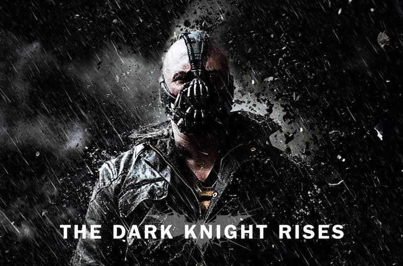 """The Dark Knight Rises,"" the last of Christopher Nolan's Batman movies, is one of the Dragon Press' picks for best film of 2012. Credit: Warner Bros. Pictures"