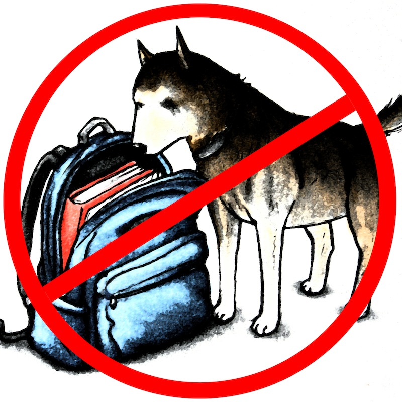 Drug-sniffing dogs are detrimental to our school. Photo Illustration Credit: Claire Stockdill & Aysen Tan/The Foothill Dragon Press