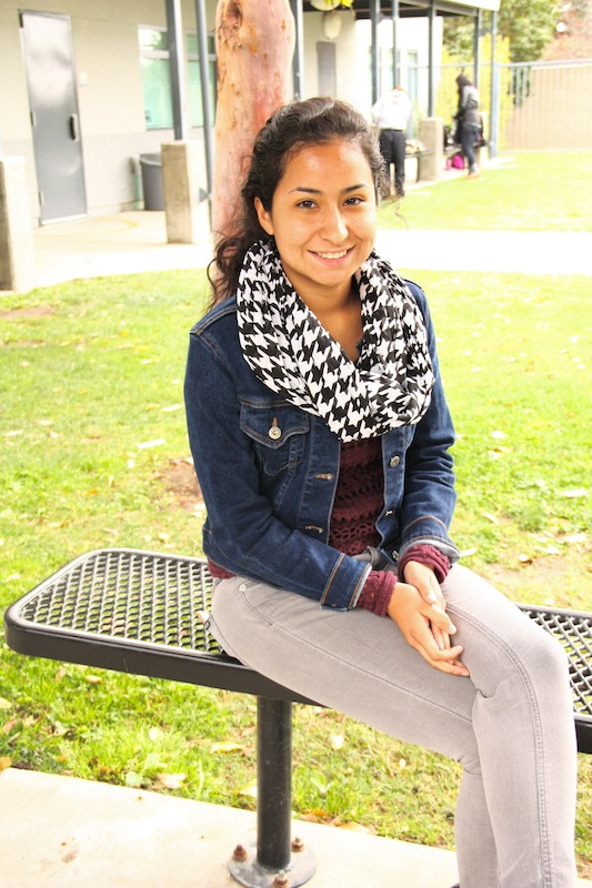 Senior Erika Elizalde has found her passion by volunteering at book sales and the Boys and Girls Club. Credit: Natalie Smith/The Foothill Dragon Press