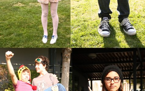 Fashion trends like KPop, tennis shoes, hipster glasses, and costumes have stayed in style for a long time at Foothill. Credit: Lauren Pedersen/The Foothill Dragon Press