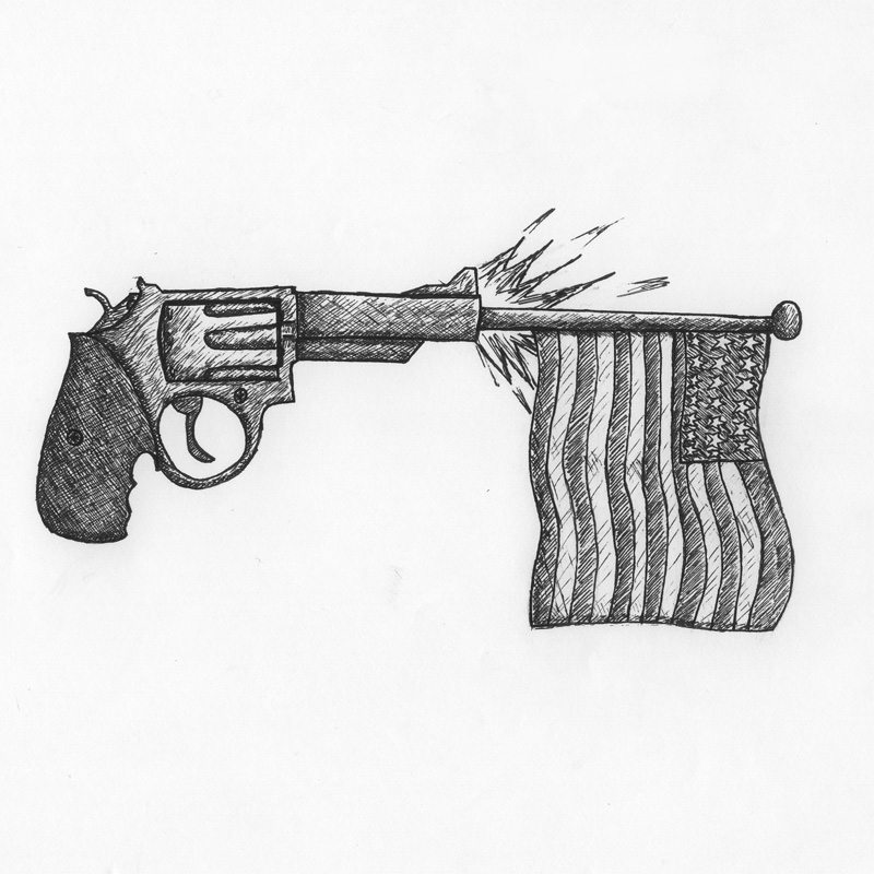 Lately there has been an uprising of random shootouts in America. Credit: Michael Morales/The Foothill Dragon Press