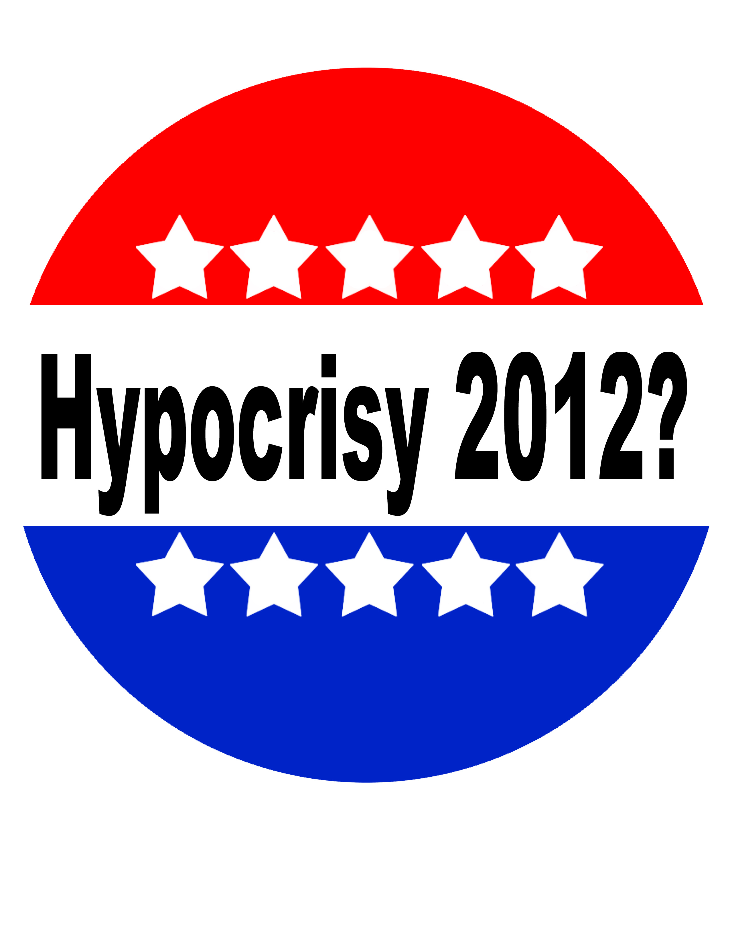 The two presidential candidates seem to show hypocrisy with their actions and statements. Credit: Felicia Perez/The Foothill Dragon Press
