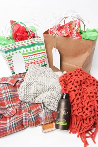 Look to this holiday fashion gift guide for ideas on what to get him or her. Credit: Lauren Pedersen/The Foothill Dragon Press