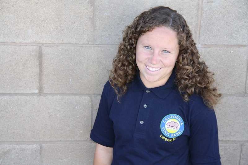 Junior Natalie Waechter will be a California State Lifeguard over the summer. Credit: Felicia Perez/The Foothill Dragon Press
