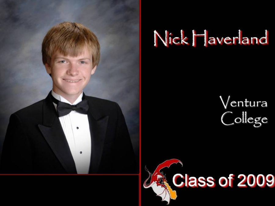 Nick+Haverland%27s+senior+yearbook+photo.+Credit%3A+Foothill+Technology+High+School.