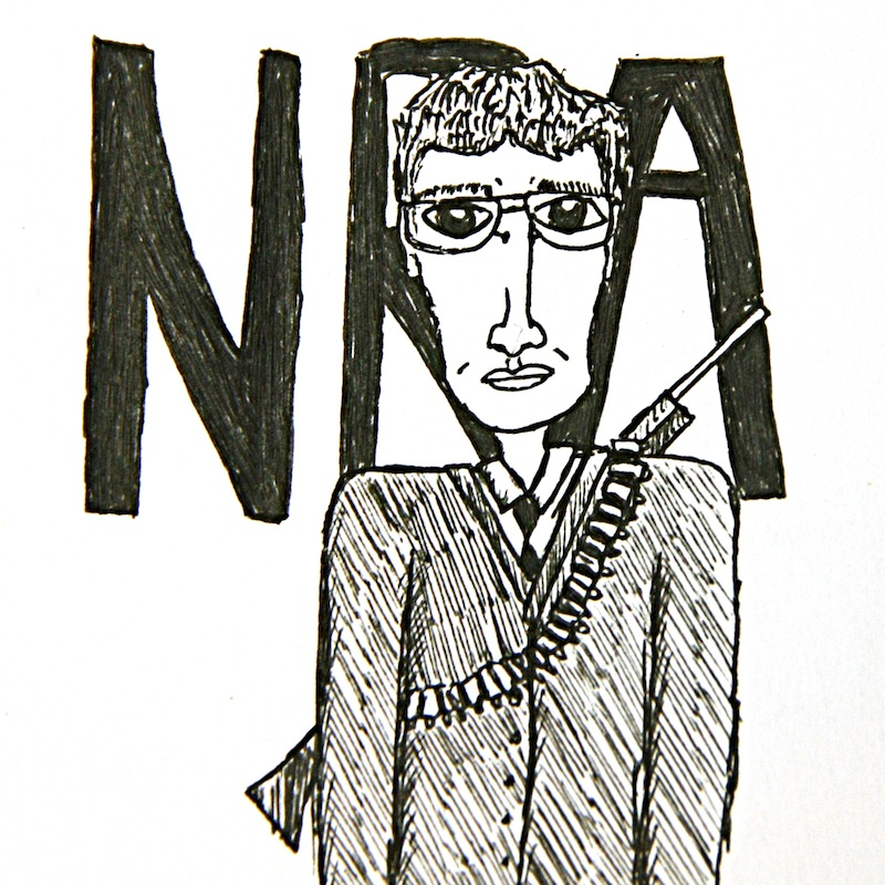 With the recent tragic shootings occurring, the NRA needs to stop making excuses about guns. Credit: Michael Morales/The Foothill Dragon Press