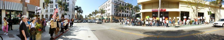 Occupy Ventura Panorama