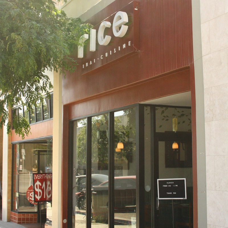 Rice Thai Cuisine is a restaurant with bold flavors and delicious foods. Credit: Aysen Tan/The Foothill Dragon Press