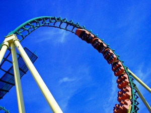 Going to Magic Mountain? Don't miss the top 10 coasters
