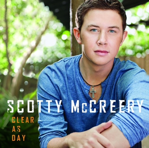 "American Idol winner Scotty McCreery released his new album, ""Clear as Day."" Credit: 19 Records/ Mercury Nashville"