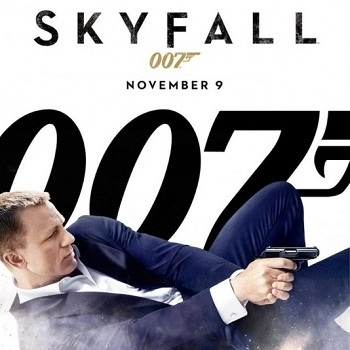 """The newest James Bond movie, """"Skyfall,"""" was released on November 9 and isnt very spectacular. Credit: Columbia Pictures/The Foothill Dragon Press"""