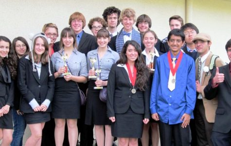 Foothill Speech & Debate fared well at the recent tournament at California Lutheran University in Thousand Oaks. Credit: Jennifer Kindred.