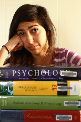 Increased number of AP students means higher stress level