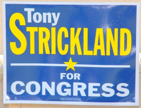 Tony Strickland is the Republican candidate running for the congressional representative of Ventura County. Credit: Josh Ren/The Foothill Dragon Press