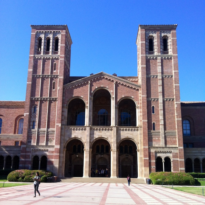 Royce Hall, one of the most notable landmarks of my soon-to-be home. Credit: Anaika Miller/The Foothill Dragon Press