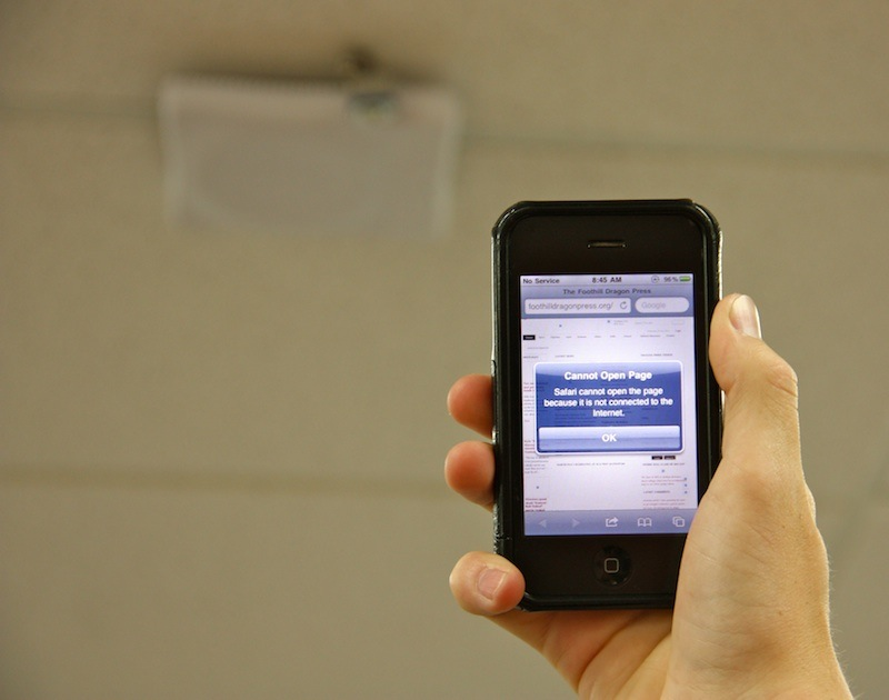 Wireless internet will be available to students and staff next school year. Credit: Aysen Tan/The Foothill Dragon Press