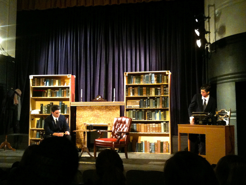 """The Ventura High School Drama Department performs their rendition of Agatha Christies """"Witness for the Prosecution."""" Credit: Kirsten Wiltjer/The Foothill Dragon Press"""